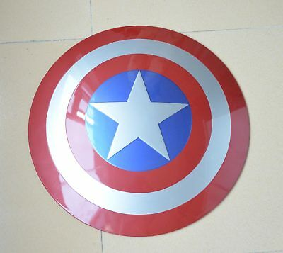 NEW 1:1 The Avengers Captain America Shield Strong ABS Replica PROP Cosplay