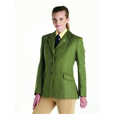 Matchmakers Kids Caldene Southwold Jacket - Green, 28 Inch - Competition Tweed