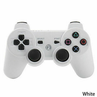 3rd Party White/Red Wireless Gamepad Controller for PS3 Playstation 3 Console UK
