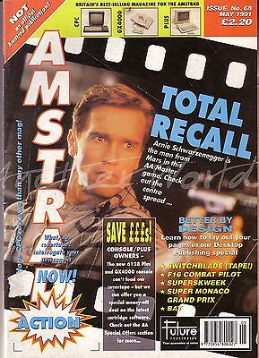 Amstrad Action Magazine No. 68 - May 1991 - Good Condition