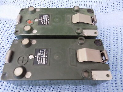 TWO RACAL MA968B Dry Battery Boxes
