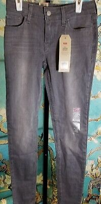 NWT  Levis 535 Super Skinny Boys Jeans, Size 26×30, Retail $49.95