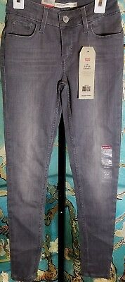 NWT  Levis 535 Super Skinny Boys Jeans, Size 25×30, Retail $49.95