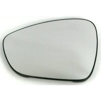 Left side mirror glass with clip for Citroen C3 C5 DS3 09-16 Aspherical Heated