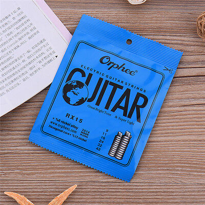 New Orphee RX15 Regular Slinky(.009-.042) Electric Guitar Strings Steel String