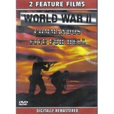 World War II: Commandos/Five For Hell by Klaus Kinsky (DVD, 2005) NEW