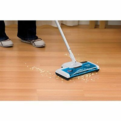 Cordless Floor Sweeper - Bissell Compact Rechargable Electric Cleaner Carpet Rug