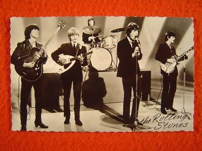 THE ROLLING STONES - 1 Postkarte