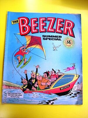 the  Beezer  comic   summer special   1987 , DC Thomson 30th Birthday gift