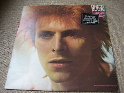 David Bowie Space Oddity LP UK 1st Press on RCA [Not Phillips!] Poster + Sticker