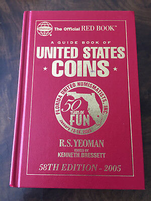 58th Ed - 2005 50 Years FUN Official Red Book Guide Book of United States Coins