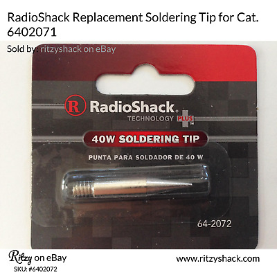 RadioShack Replacement tip for 40w Soldering Iron, 6402072
