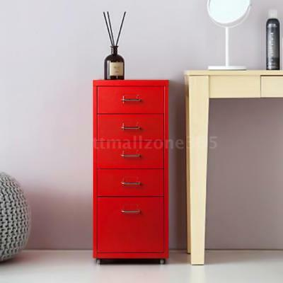 5 Drawer Metal File Cabinet Filing Lateral Letter Organizer Home Office A6R2