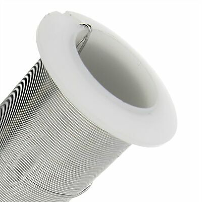 15 Yard Spool BeadSmith 20 Gauge Tarnish Resistant Silver 1/2 Hard Wrapping Wire