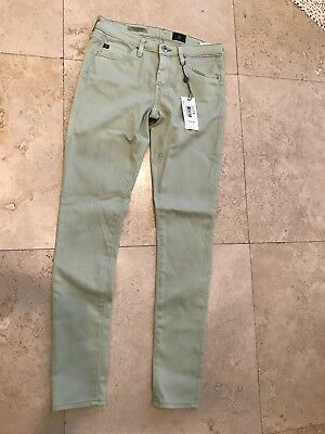 AG Adriano The Legging Ankle Super Skinny Women's Sz.25R Spring Green - NWT
