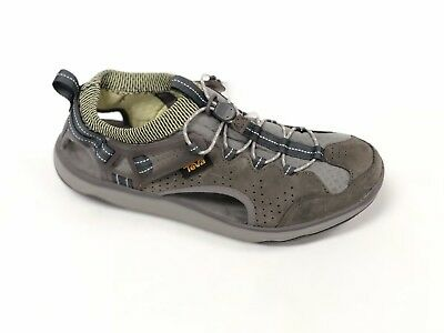 9766c41e388b TEVA WOMENS TERRA FLOAT TRAVEL LACE SHOE 1018735 Smoked Pearl WATERPROOF  LEATHER