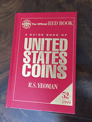 52TH ED 1999 Official Red Book Guide book to United States Coins