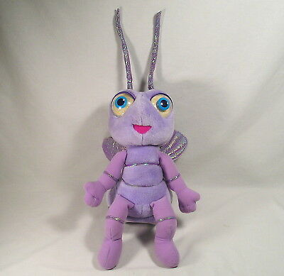 Disney Pixar Bug's Life Purple Ant Talking Princess Dot Plush, Interactive Toy