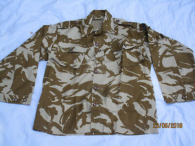 Jacket Combat Tropical Desert,Gulf War,size 190/112,Desert Shirt,Rare Version