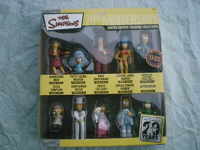 THE SIMPSONS 20th ANNIVERSARY LIMITED EDITION COLLECTION 11-20