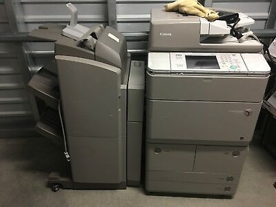 Canon ImageRunner Advance 6255 MFP Black & White Laser Copier Printer Scanner