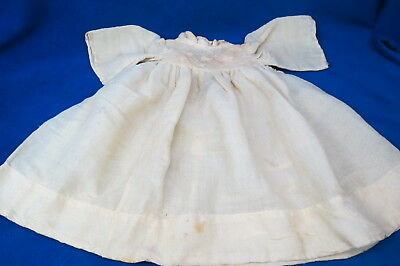 Antique Baby Dress Christening Gown Dated 1907