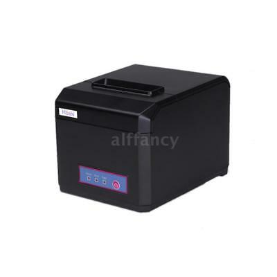 80MM POS Thermal Printer Receipt Ticket Machine USB Auto Cutter for POS U7T0