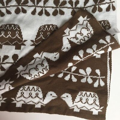Amy Coe Brown/White Reversible Turtle Blanket Super Soft