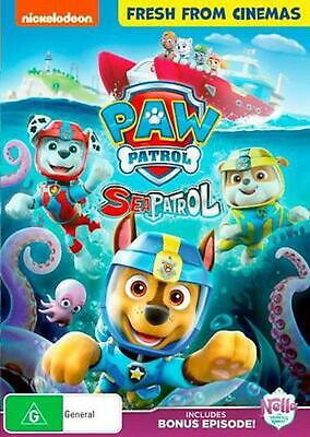 Paw Patrol - Sea Patrol - DVD Region 4 Free Shipping!