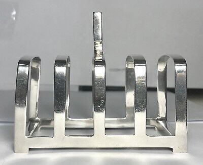 Very Rare Australia sterling solid silver toast rack ,Melbourne, hallmarked