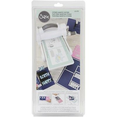 """Sizzix Wafer-Thin Dies Extended Magnetic Platform 14.5""""X6"""""""