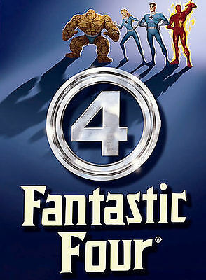 Fantastic Four: The Complete Animated Tv Series 1994-95 4 Disc (Dvd) Not A Copy!
