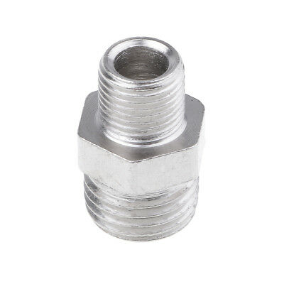 Airbrush Hose Adaptor Fitting 1/8'' BSP Male to 1/4'' BSP Male Connectors
