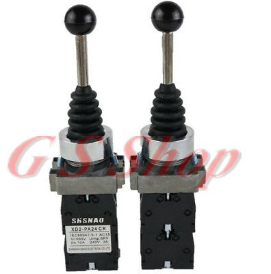 1PCS XD2PA24CR 4 Position 4NO Spring Return Wobble Joystick Switch SENAO brand