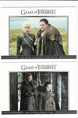 Game of Thrones Season 7 Relationships Set (10 Cards)