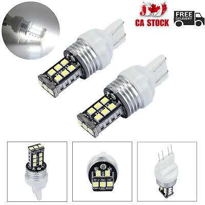 2X T20 7443 15LED Car Brake Stop Tail Light Bulb 12V Dual Filament Bright White