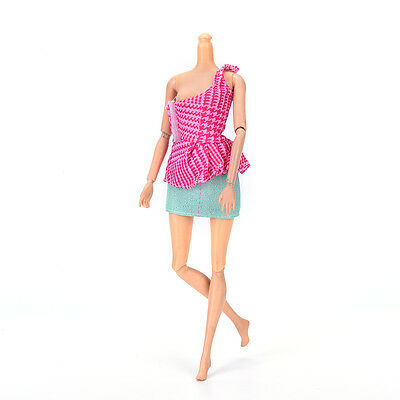 """Fashion Beautiful Handmade Party Clothes Dress for 9"""" Barbie Doll Mini 97 MD"""