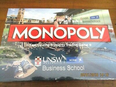 ~BN SEALED MONOPOLY UNSW BUSINESS SCHOOL - LIMITED EDITION by HASBRO~