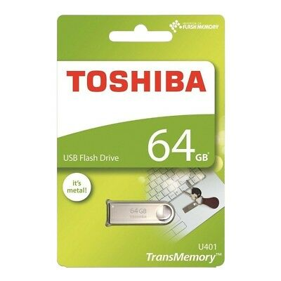 64GB TOSHIBA USB-Stick 64 GB TransMemory U401 Metall