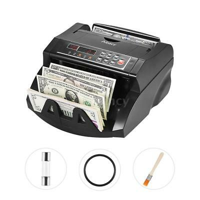Money Bill Currency Counter Counting Machine Counterfeit Detector UV MG DD G7J6