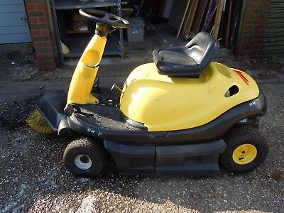 Karcher KMR 1000 Petrol Powered Ride On Warehouse/Sweeper/Cleaner/Yard