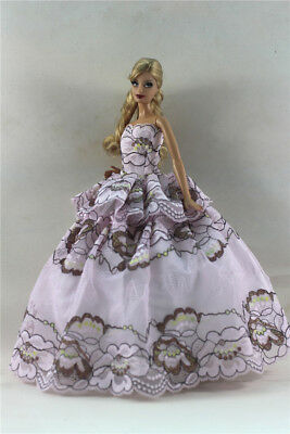 Fashion Princess Party Dress/Evening Clothes/Gown For 11.5in.Doll S349