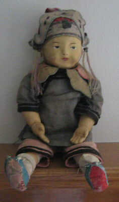 Chinese Composition Gofun Doll