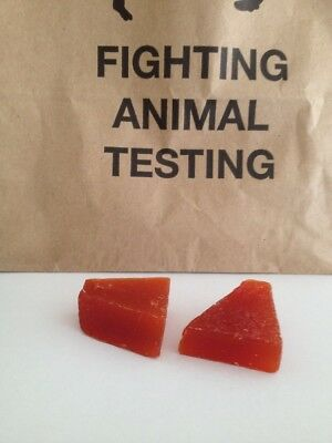 LUSH -  2 x KARMA Soap - Small Sample size pieces - Authentic