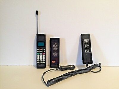 Vintage AAA Auto Club JRC Canada PTR-870 Mobile Cellular Phone Car Charger Works