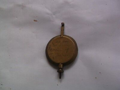 A Pendulum From An Old Enfield Mantel Clock  118G