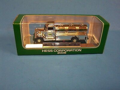 2006 Nyse Hess Chrome Mini Edition Never Sold To Public