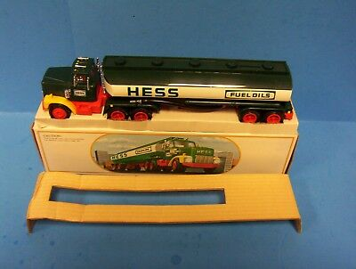 1984 Hess Toy Truck Bank New in Box -MINT WORKS