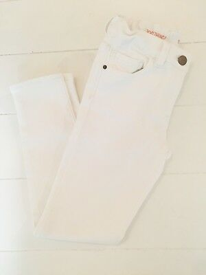 J.Crew Crewcuts girls white skinny jeans 8 mint condition! Worn once! $9.99