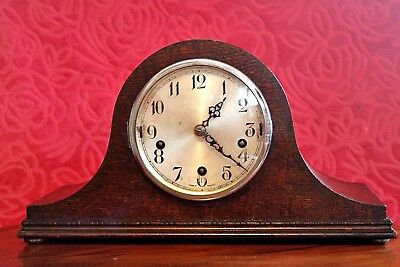 Vintage Art Deco 'Enfield' Mantel Clock with Westminster & Whittington Chimes
